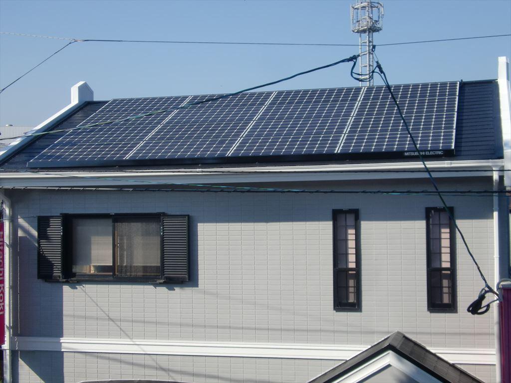 島原市有明町Y様邸太陽光発電所施工