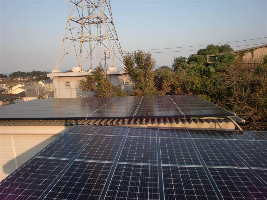 島原市K様邸三菱太陽光発電工事しました。