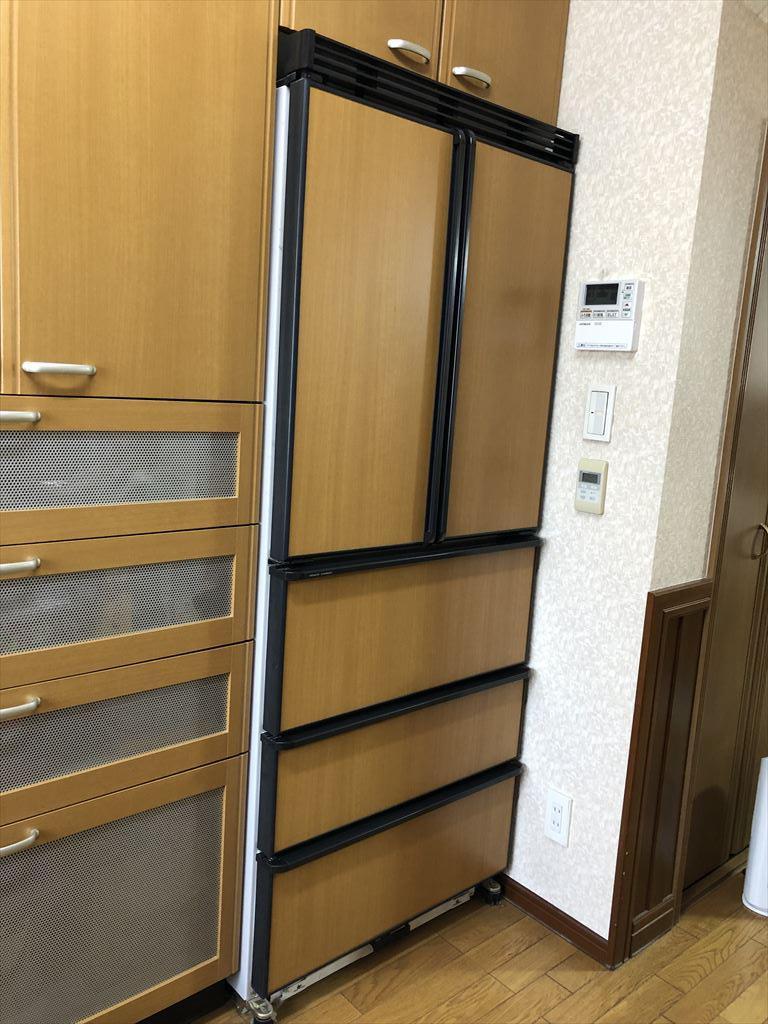 日立冷蔵庫R-XG48Jに取替ました。