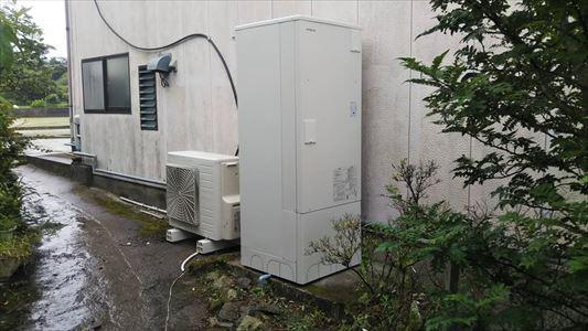 石油給湯器から日立エコキュートに取替ました。