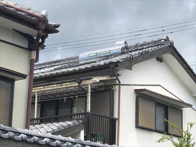 長府太陽熱温水器エコワイター取付ました。