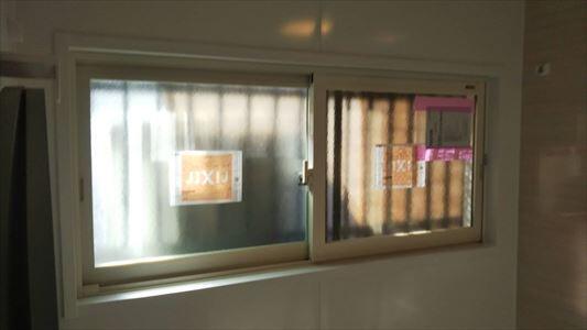 浴室にインプラス内窓 取付ました。