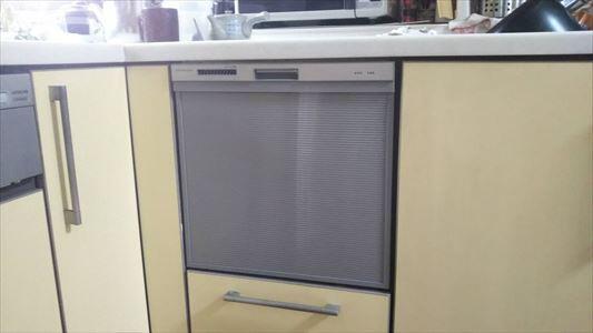 食器洗い乾燥機取り替えました。